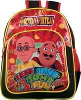 Motu Patlu School Bag (Red, Black, 14 Inch)