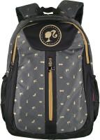Barbie Waterproof School Bag (Black, 19 Inch)