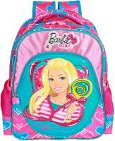 Mattel Girl Bag Waterproof Backpack (Pink, 18 Inch)