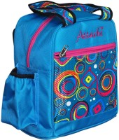 Attache Padded 1 Container Box School Bag (Blue, 4 L)