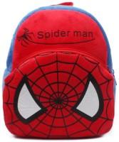HMS Spiderman Backpack Cartoon Schoolbag Soft 1 L Backpack (blue, Red)