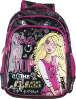 Barbie Waterproof School Bag (Black, 18 Inch)