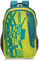 Skybags Pixel Plus 01 32 L Backpack (LIME GREEN)
