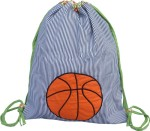 Little Pipal Backpack Little Pipal Basketball Drawstring Backpack