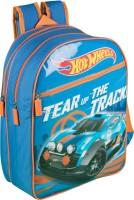 Hot Wheels School Bag (Blue, 14 Inch)