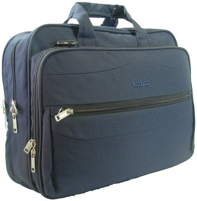 TLC Dimorphic 15.6 Laptop Bag Blue available at Flipkart for Rs.1874