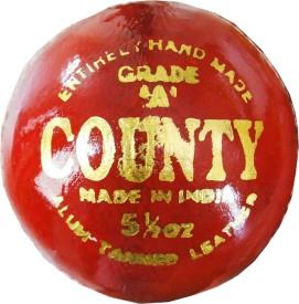 Rhino County Cricket Ball - Size: 6, Diameter: 7.2 cm