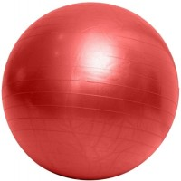 Physique Anti-Burst Gym Ball -   Size: 75,  Diameter: 75 Cm (Pack Of 1, Red)