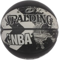 Spalding 2015 Alley Oop Basketball -   Size: 7,  Diameter: 30 Cm (Pack Of 1, Black)