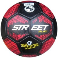Speed Up Street Play Rubber Football -   Size: 5,  Diameter: 30 Cm (Pack Of 1, Multicolor)