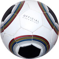 BGV Club M Football -   Size: Full Size - 5,  Diameter: 22 Cm (Pack Of 1, White)