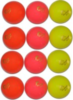 GINWALA WIND Cricket Ball -   Size: FULL SIZE,  Diameter: 7.03 Cm (Pack Of 12, Multicolor)