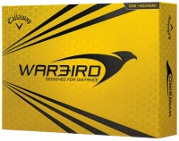 Callaway Warbird Golf Ball -   Size: 4.27,  Diameter: 4.27 Cm (Pack Of 12, White)