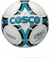 Cosco Brazil Football -   Size: 5,  Diameter: 2.5 Cm (Pack Of 1, White)