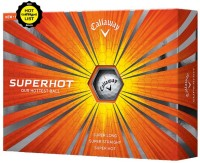 Callaway Superhot Golf Ball -   Size: 4.27,  Diameter: 4.27 Cm (Pack Of 12, White)