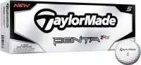 Taylormade Penta TP5 Golf Ball (Pack Of 12, White)
