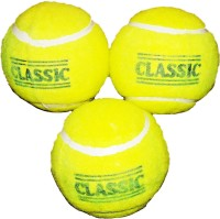 Rahul Toys Ball Set Of 3 Tennis Ball -   Size: 5,  Diameter: 2.5 Cm (Pack Of 3, Yellow)