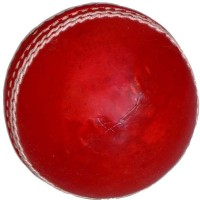 Vani Sports Vsm-Leather Cricket Ball -   Size: 3,  Diameter: 2.5 Cm (Pack Of 1, Red)