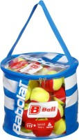 Babolat Felt 24 (1 Bag) Tennis Ball -   Size: 6,  Diameter: 7.5 Cm (Pack Of 24, Red, Yellow)