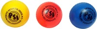 Priya Sports Top WInd Cricket Ball -   Size: 5,  Diameter: 2.5 Cm (Pack Of 3, Multicolor)