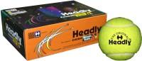 Headly Cricket Tennis Ball Light Tennis Ball (Pack Of 6, Yellow)