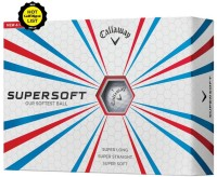 Callaway Supersoft Golf Ball -   Size: 4.27,  Diameter: 4.27 Cm (Pack Of 12, White)