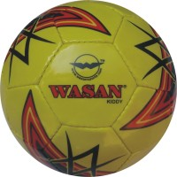 Wasan Kiddy Football - Size: 3, Diameter: 60 Cm (Pack Of 1, Yellow)