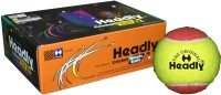 Headly Cricket Tennis Ball Heavy Double Color Tennis Ball (Pack Of 6, Multicolor)