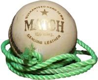 Priya Sports 2836A Cricket Ball - Size: 5, Diameter: 2.24 Cm (Pack Of 1, White)
