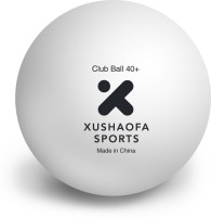Xushaofa Sports Seamless Poly Plastic Club 1 Star Table Tennis Balls 40+ Ping Pong Ball -   Size: 40+,  Diameter: 4 Cm (Pack Of 36, White)