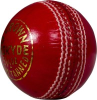 Prokyde Delta Crown Cricket Ball - Size: 5, Diameter: 2.5 Cm (Pack Of 1, Red)