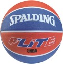 Spalding Flite Basketball - 7 - Pack Of 1, White, Blue, Brick