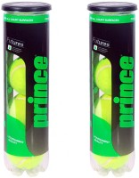 Prince Championship Tennis Ball -   Size: 2.5,  Diameter: 2.5 Cm (Pack Of 6, Yellow)