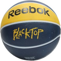 Reebok Black Top Basketball -   Size: 7,  Diameter: 30 Cm (Pack Of 1, Yellow)