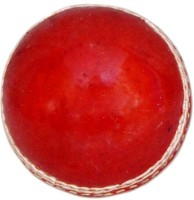 VSM Two Piece Cricket Ball -   Size: 3,  Diameter: 2.5 Cm (Pack Of 1, Red)