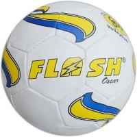 Flash Oscar Volleyball - Size: Standard, Diameter: 10.5 Cm (Pack Of 1, White)