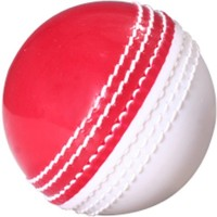 CW Spin Poly Soft Cricket Ball -   Size: Full Size,  Diameter: 22 Cm (Pack Of 6, White, Red)