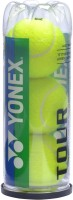 Yonex Tour Tennis Ball -   Size: 3,  Diameter: 2.5 Cm (Pack Of 3, Yellow)