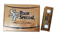 Srixon SF Tour Special Golf Ball -   Size: 4,  Diameter: 3.98 Cm (Pack Of 12, White)