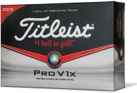 Titleist Pro V1x Golf Ball - Size: 4, Diameter: 4 Cm (Pack Of 12, White)