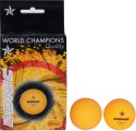 Donic 1 Star Table Tennis Ball - Pack Of 6, Orange