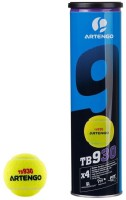 Artengo TB930 Tennis Ball -   Size: 6.5,  Diameter: 6.5 Cm (Pack Of 4, Yellow)