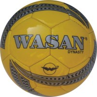 Wasan Dynasty Football - Size: 5, Diameter: 70 Cm (Pack Of 1, Yellow)