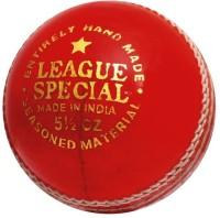 CW League Special Leather Cricket Ball -   Size: Full Size,  Diameter: 22 Cm (Pack Of 3, Red)