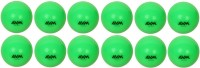 AVM HARD SHOT WINDBALL Cricket Ball -   Size: STANDARD,  Diameter: 6.5 Cm (Pack Of 12, Green)