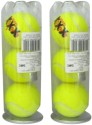 Head XXX Tennis Balls Tennis Ball -   Size: 7,  Diameter: 6.7 Cm - Pack Of 3, Yellow