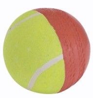 Ceela Sports Swing Training Cricket Ball -   Size: Standard,  Diameter: 2.7 Cm (Pack Of 2, Red, Green)