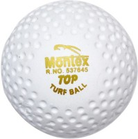 Montex Turf (pack Of 6) Hockey Ball -   Size: Standard,  Diameter: 6 Cm (Pack Of 6, White)