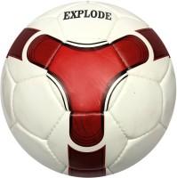 Vectorx Explode Football -   Size: 5,  Diameter: 20 Cm (Pack Of 1, White, Maroon)