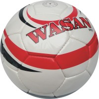 Wasan Pro Football -   Size: 5,  Diameter: 70 Cm (Pack Of 1, White)